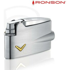 Ronson Mini Varaflame - Chrome Satin
