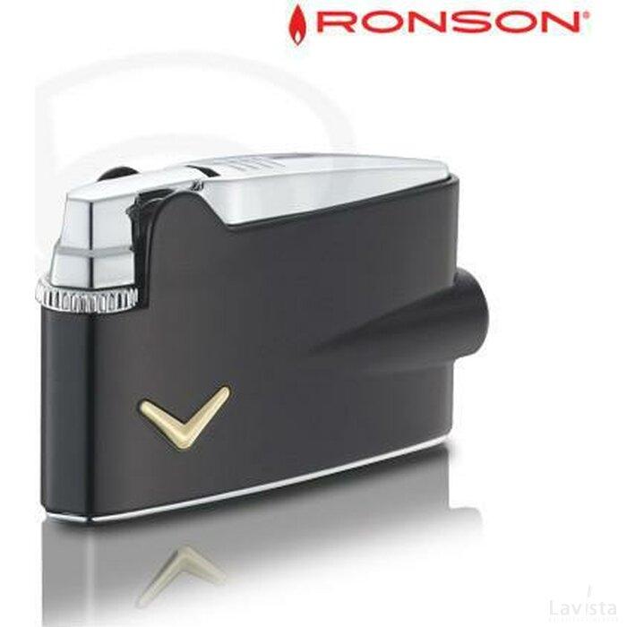 Ronson Mini Varaflame - Black Lacquer