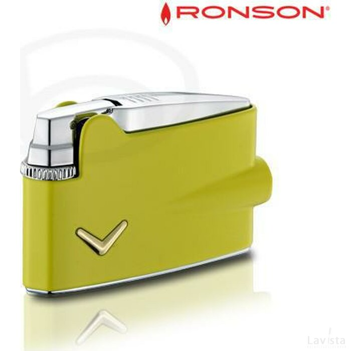 Ronson Mini Varaflame - Yellow Lacquer