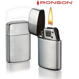 Ronson Typhoon Petrol - Chrome