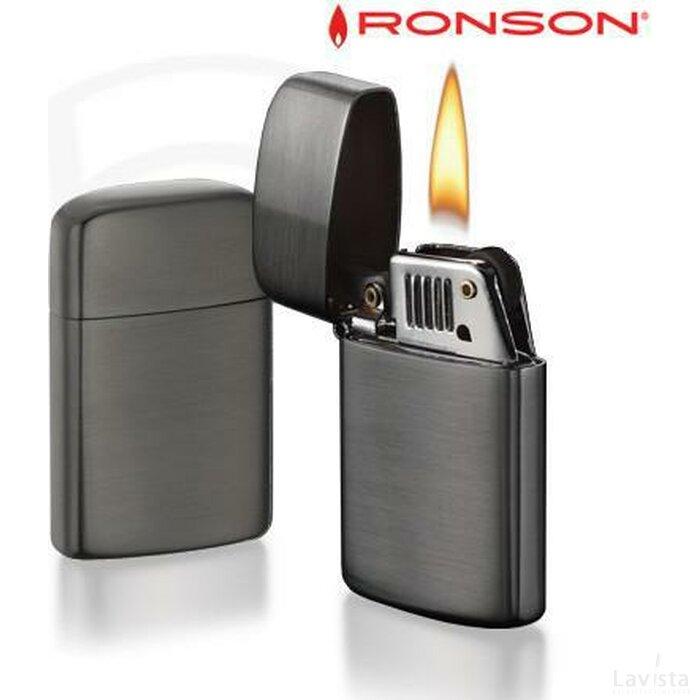 Ronson Typhoon Petrol - Gun Satin