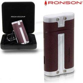 Ronson Barrel Turbo Aansteker Bordeaux