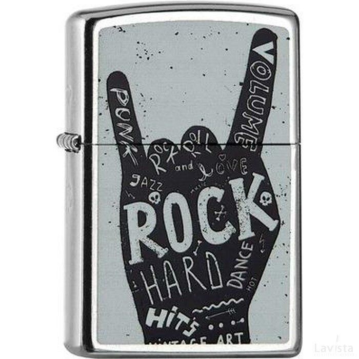 ZIPPO ROCK HARD