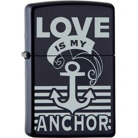 ZIPPO LOVE IS MY ANCHOR