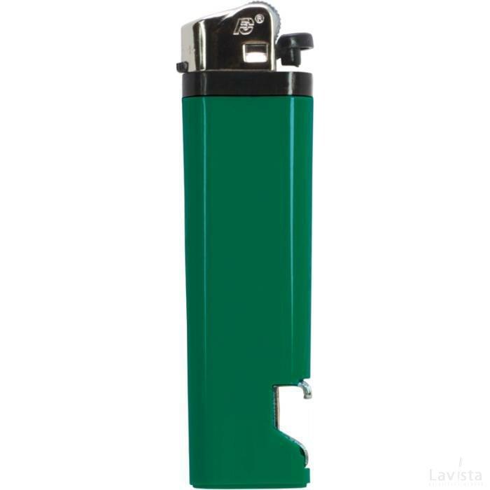 Aansteker flesopener Groen