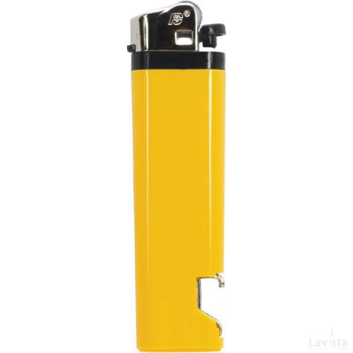 Aansteker flesopener Geel