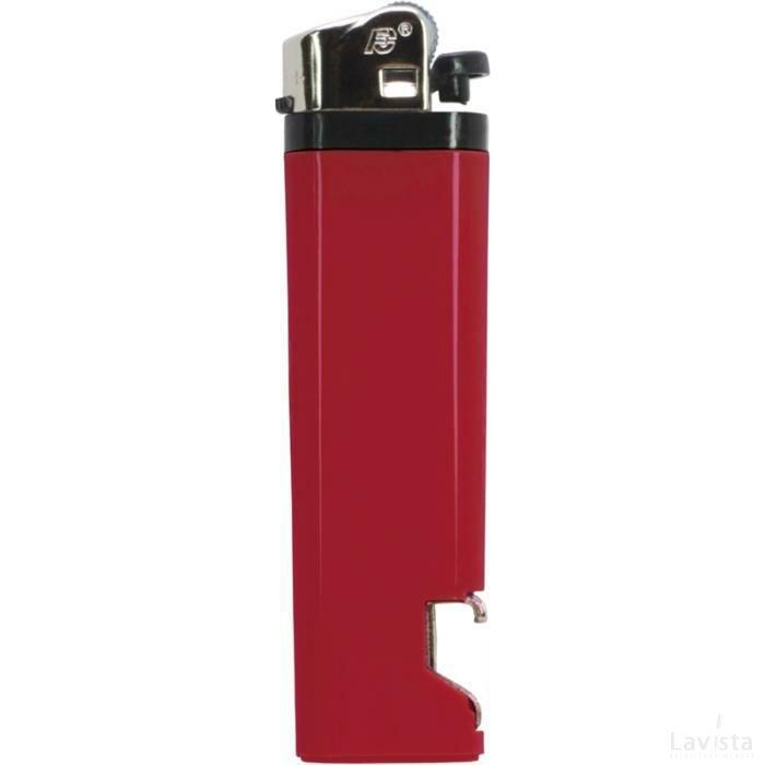 Aansteker flesopener Rood