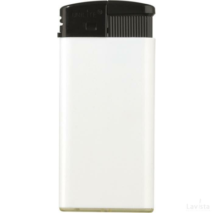 Aansteker Electronic Strechted Wit / Zwart