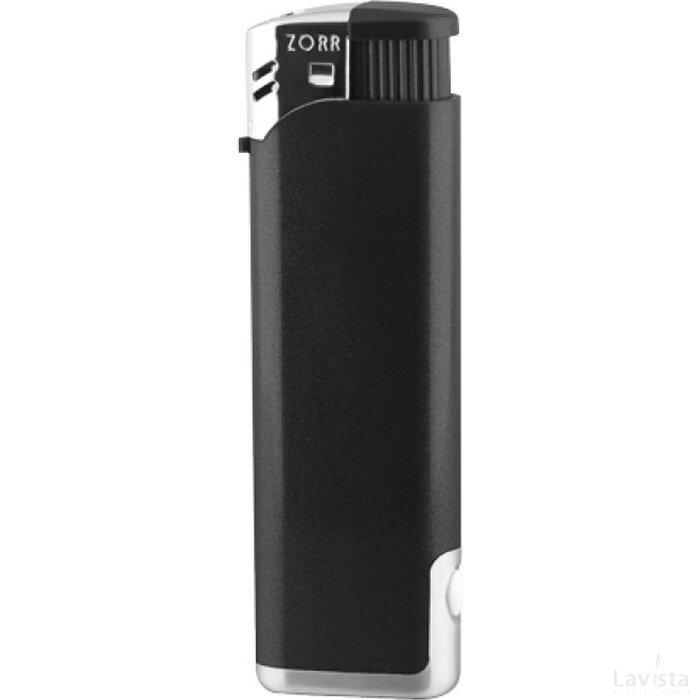 Zorr Piezo LED zwart metallic