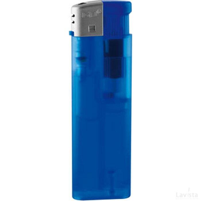 Aansteker GO Piezo blauw frosty