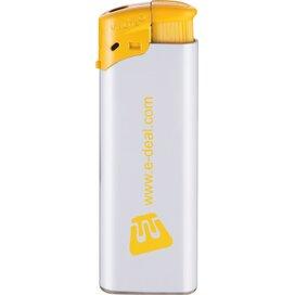 Elektronische FBL aansteker, navulbaar wit/geel