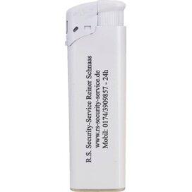 Elektronische FBL aansteker, navulbaar wit/wit