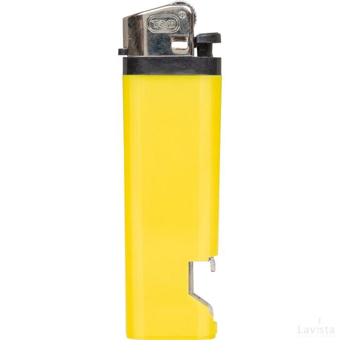 Wegwerpaansteker 2-in-1 Geel